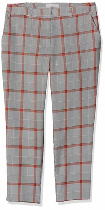 Dorothy Perkins Petite Women's Indian Check Naples ag Trousers