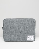 Herschel Anchor Sleeve For Macbook 13in In Gray