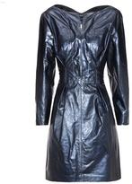 Isabel Marant Algar metallic leather dress