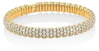 Zydo Stretch 18K Yellow Gold & Diamond Bracelet