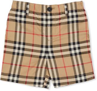 Burberry Boy's Sean Icon Stripe Shorts, Size 6 Months-2