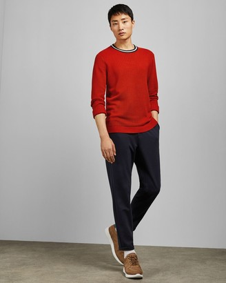 Ted Baker Textured Crew Neck Jumper