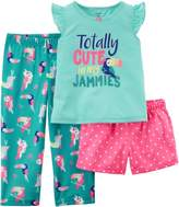 Carter's Little Girls 3-pc. Totally Cute Pajama Set