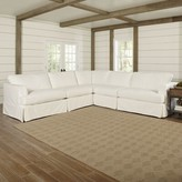 Bentley L-Shaped Sectional Klaussner Furniture Body Fabric: Bayou Natural, Orientation: Left Hand Facing