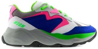 MSGM Chunky Platform Sneakers