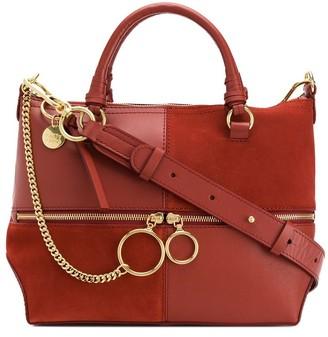 See by Chloe Large Panelled Tote Bag