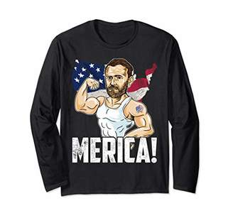 President Ulysses S. Grant Merica 4th of July Funny Party Long Sleeve T-Shirt