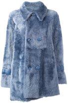 Drome double breasted shearling coat - women - Lamb Fur/Lamb Skin - M