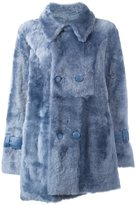 Drome double breasted shearling coat - women - Lamb Skin/Lamb Fur - M