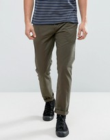 Jack Wills Keadby Slim Fit Chinos In Olive