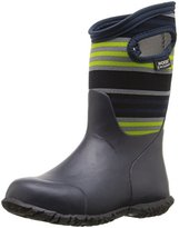 Bogs Durham Varied Stripe Winter Snow Boot (Little Kid/Big Kid)