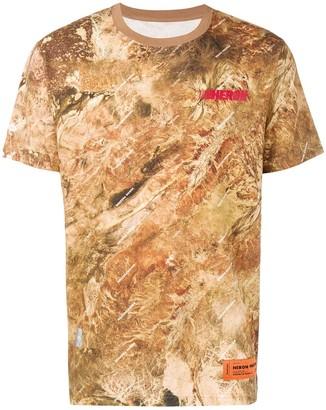 Heron Preston camouflage logo T-shirt