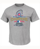 Majestic Men's Chicago Cubs World Series Champ Locker Room T-Shirt