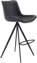 ZUO Set Of 2 Aki Bar Chairs