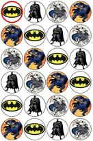 Coyote Party and print 24 Batman Toppers gâteau