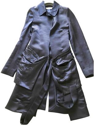 Victoria Beckham Blue Trench Coat for Women