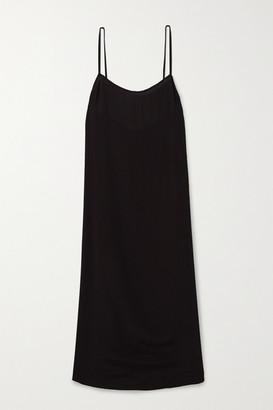 Haight Clara Crepe Midi Dress - Black