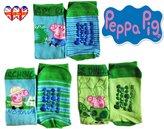 Peppa Pig Socks ,Baby Socks,Kids Socks,Children Socks ,2 Different Sizes(pack Of 3 Socks)