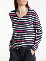 Gerry Weber Long Sleeve Stripe Jumper, Multi