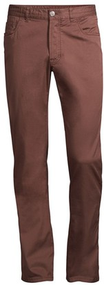 Brioni Solid Five-Pocket Pants