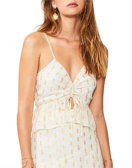 SUBOO Montana Gathered Front Cami