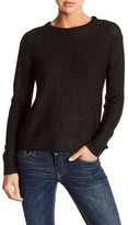 Michael Stars Purl Stitch Crew Neck Sweater