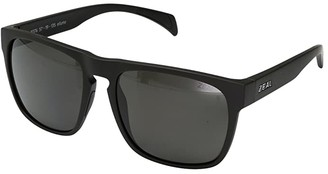 Zeal Optics Capitol (Matte Black w/ Polarized Dark Grey Lens) Sport Sunglasses