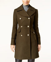 Vince Camuto Double-Breasted Military Coat