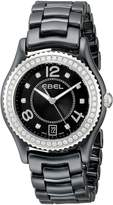 Ebel Women's 1216156 X-1 Analog Display Swiss Quartz Watch