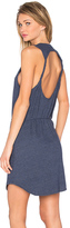 Chaser Twisted Back Cut Out Mini Dress