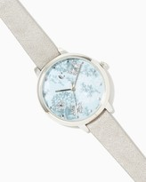 Charming charlie Floral Butterfly Watch
