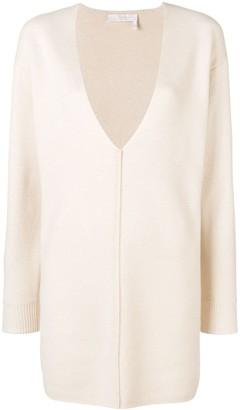 Chloé V-neck sweater dress