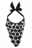Forest of Chintz Honeycomb Bib Necklace