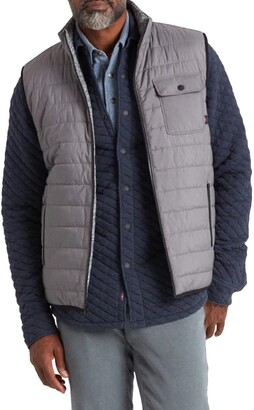 Faherty Atmosphere Reversible Quilted Vest