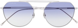 Lacoste Paris Collection oval-frame sunglasses