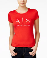 Armani Exchange Logo Graphic T-Shirt