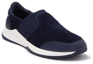 Badgley Mischka Jasper Leather & Suede Slip-On Sneaker