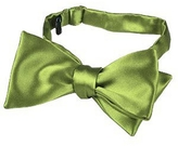 Forzieri Light Green Solid Silk Self-tie Bowtie