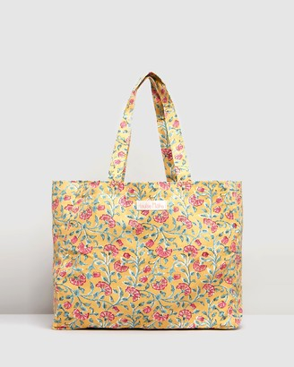 Louise Misha - Girl's Yellow Tote Bags - Beverly Tote Bag - Kids - Size One size at The Iconic