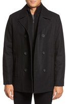 Kenneth Cole New York Men's Wool Blend Peacoat