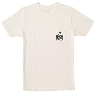 RVCA Vista Short Sleeve (Antique White) Men's Clothing