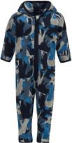 Molo Blue Camo Unity Fleece Suit