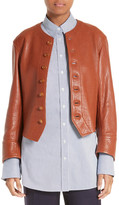 Joseph Orlan Leather Jacket