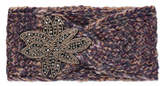 Bell George Knitted Headband with Flower Embellishment