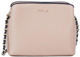 Furla Chain Leather Shoulder Bag