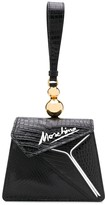 Moschino Coconut Slice snakeskin-effect handbag