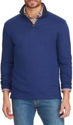 Chaps Big Tall Classic-Fit Cotton-Blend Pullover Sweater