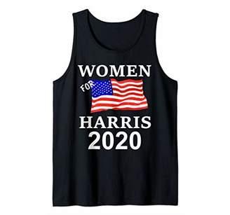 Harris 2020 President Women Flag Tank Top