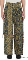 Craig Green Men's Quilted Cotton-Wool Trousers