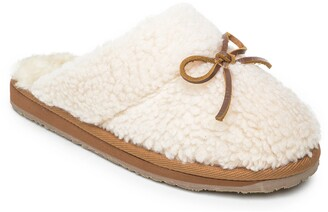 Minnetonka Flurry Scuff Faux Fur Slipper